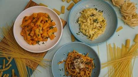 Aesthetic-Focused Pasta Eateries