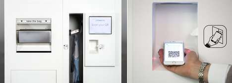 Dry Cleaning Vending Machines