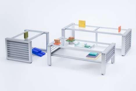 Free-Flowing Industrial Furniture