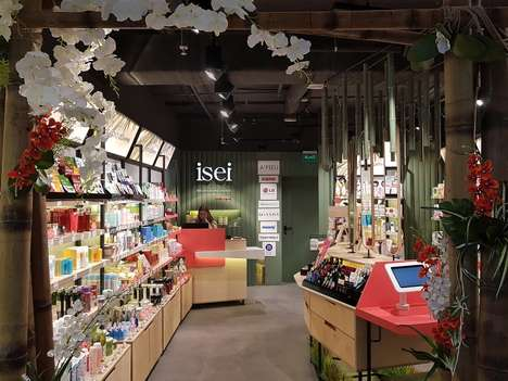 Ultra-Small Beauty Shops - The ISEI Store in Kiev is Just 30 Square Meters in Size
