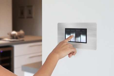 Interactive Tactile Lighting Controllers
