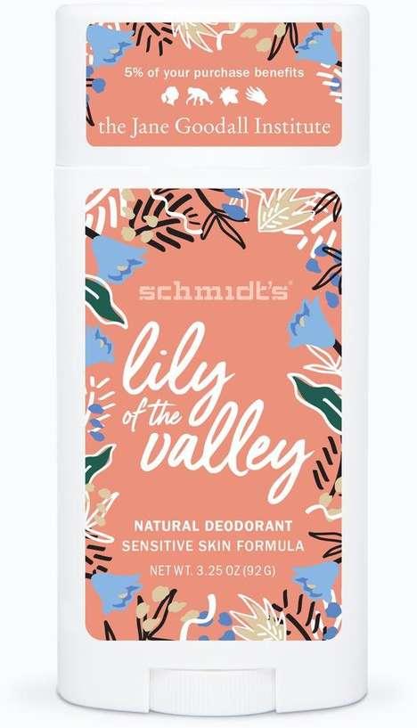 Charitable Floral Deodorants