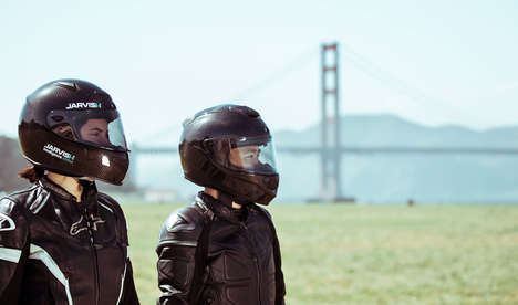 Voice-Integrated Motorcycle Helmets