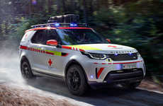 Drone-Equipped Emergency SUVs