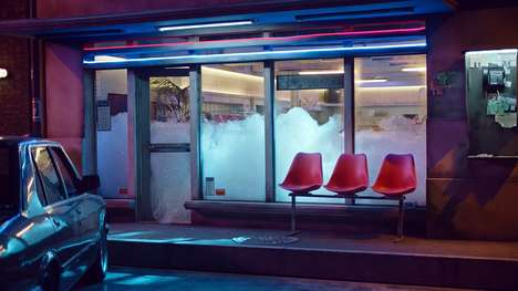 Dream-Like Body Spray Ads - Axe's Burn Out Ad Takes Viewers on a Whimsical Laundromat Adventure