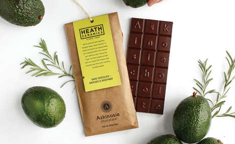 Herbaceous Avocado Chocolates