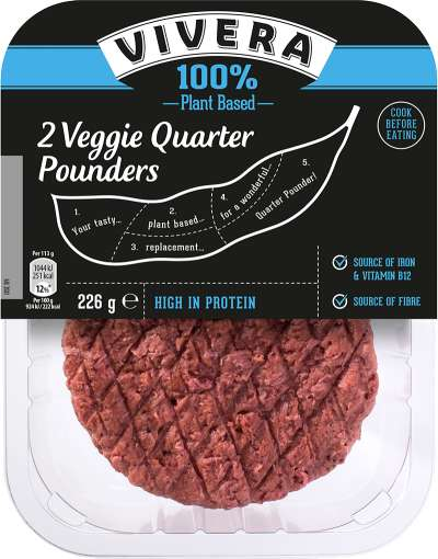 Vegan Quarter Pounder Patties