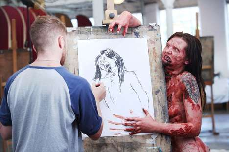 Zombie-Themed Drawing Classes