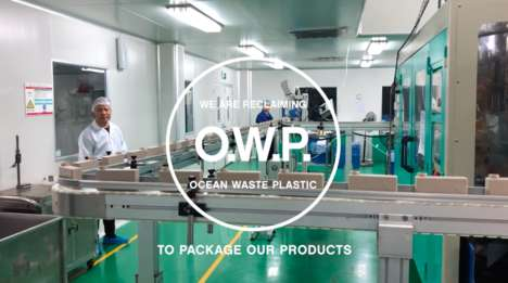 Ocean Plastic Haircare Packaging