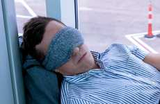 Multipurpose Travel Masks - The 'Voyage Sleep Mask' is Made with Micobeads for Optimal Comfort