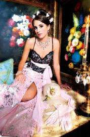 Lead Prom Dress Fashion For 2009 Are Vibrant Princess Gowns
