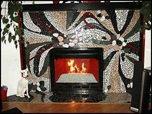 Mosaic Fireplaces