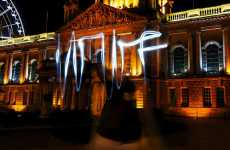Eco-Stunt Photo Tricks - Earth Hour 2009 Light Graffiti From WWF on Flickr