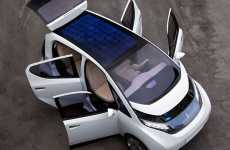 Solar Electric Cars - The Bluecar by Pininfarina and Bollore Powered by Supercapacitor