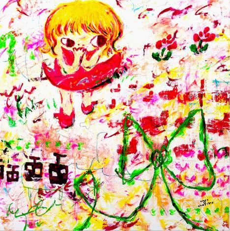 Fine Art Finger Painting