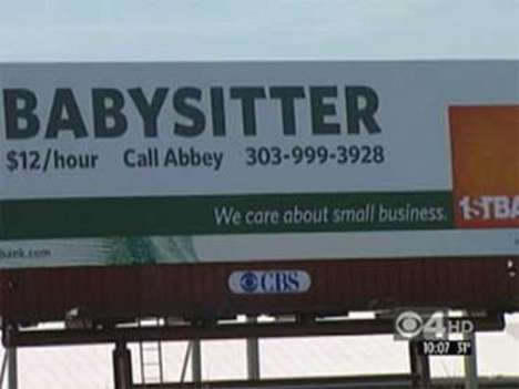Fake Ads On Billboards