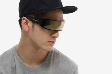 Single-Lens Sunglasses