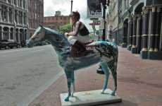 Painted Derby Horses - Gallopalooza Season in Louisville as Racing Season Nears