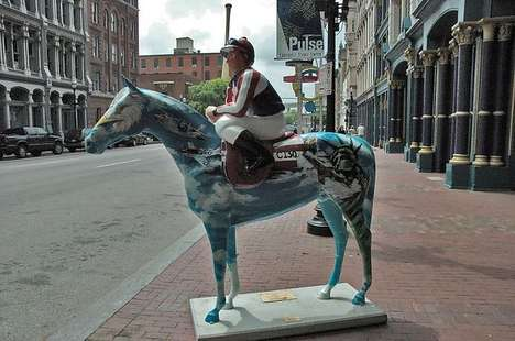 Painted Derby Horses