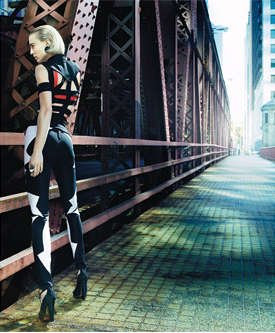 Architectural Fashion Ads