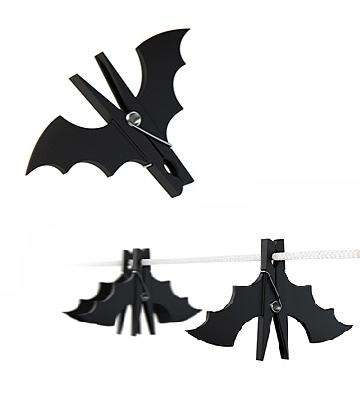 Batman Clothespins – 'Vespertilium' Secures Your Laundry, Halloween or Not