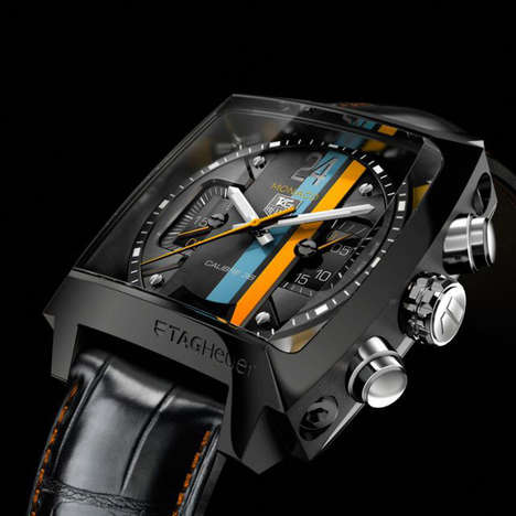 Legendary Race Watches - TAG Heuer 'Monaco Twenty Four Concept Chronograph' Honors Le Mans