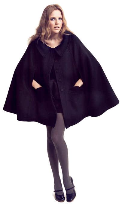 Capes, Cutouts & Bubble Skirts
