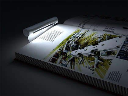 LED Bookmarks - The Bookmarklamp Blends Two Must-Haves for Bookworms