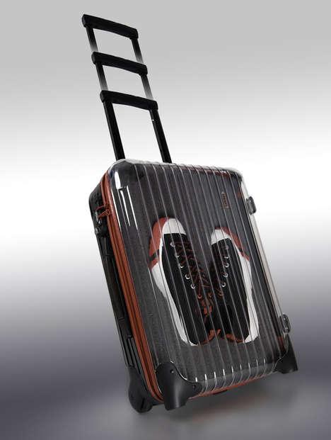 Sneaker Display Suitcases