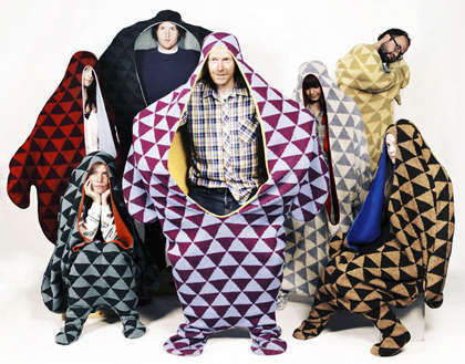 Sleeping Bag Outfits - Prjonsdottir Vik's 'Sealpelt'