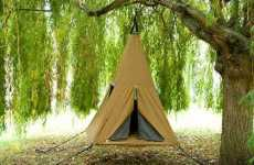 15 Terrific Tents & Inflatable Pole-Less Tents : Cave tent