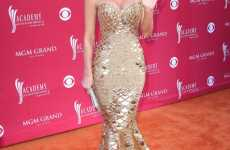 Golden Disco Mermaids - Best (And Worst) Fashion at the Country Music Awards (ACM Awards)