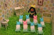 Recreating History With Candy - Marshmallow Peeps to Spoof Octomom and Obama