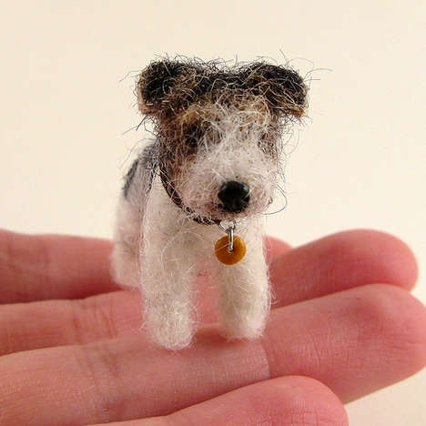 3D Felt Pets - Kay's K9s Makes Custom Miniature Replicas of Your Favorite Animals