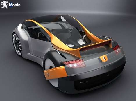 Lion-Inspired Eco Cars - The Electric Peugeot 'Leonin' Roars For €18,000