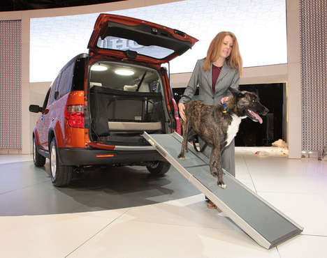 Pet-Friendly SUVs - The Dog-Friendly Honda Element