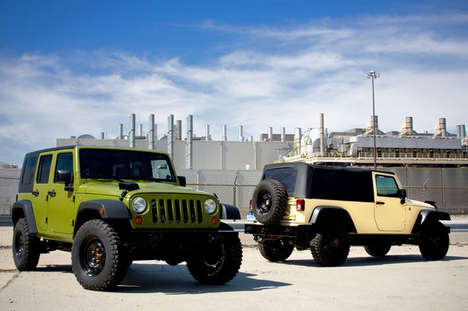 Military Vehicles for Civilians - AEV Sells G.I. Jeeps to Regular Joes