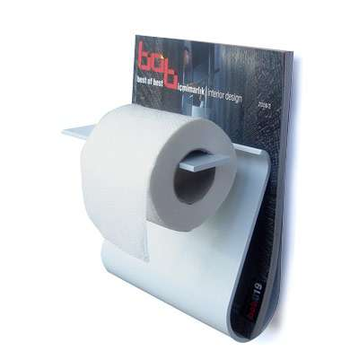 Space Saving Bathroom Decor Read And Roll Toilet Paper