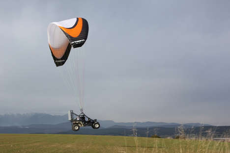 Street-Legal Skycars -Parajet Completes Maiden Flight from London to Timbuktu (UPDATE)