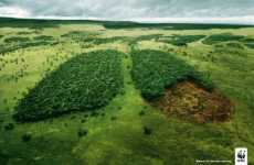 Forests As Lungs - WWF Ad Campaign Compares Deforestation to Cancer