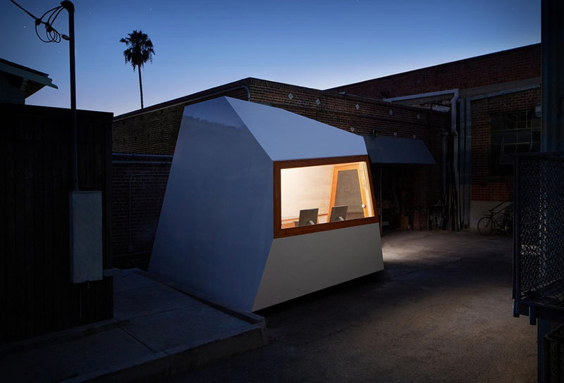 Backyard Micro-Building Offices