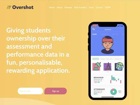 Performance-Enhancing Student Apps - The 'Overshot' App Gives Students More Ownership