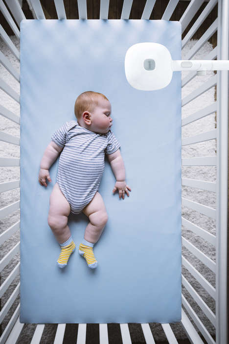 Aerial Baby Monitors - Nanit Plus' Science-Backed System Teaches Babies How to Sleep