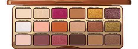 Gingerbread-Inspired Eye Palettes - Too Faced's Gingerbread Spice Palette is Ideal for the Holidays