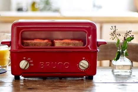 Retro Three-in-One Countertop Cookers