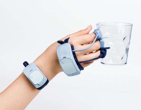 Arthritic Support Exoskeleton Wearables