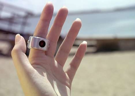 4K Video-Recording Camera Rings - The 'INSTA_RING' from Unlike Labs is Integrated with a 12MP Sensor