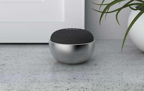Portable Smart Speaker Bases
