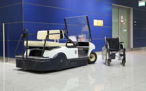 Enhanced Airport Mobility Services - Rome's 'Care to Fly' Program Helps Disabled People Travel