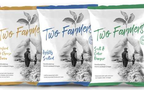 Premium Compostable Packaging Chips